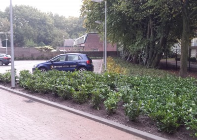 Bastion Tilburg parkeerplaats
